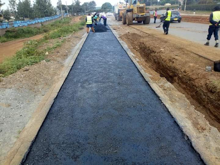 PAVEMENT CONSTRUCTION